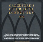 Crockford's Clerical Directory 1929
