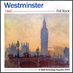 Westminster Poll Book 1841