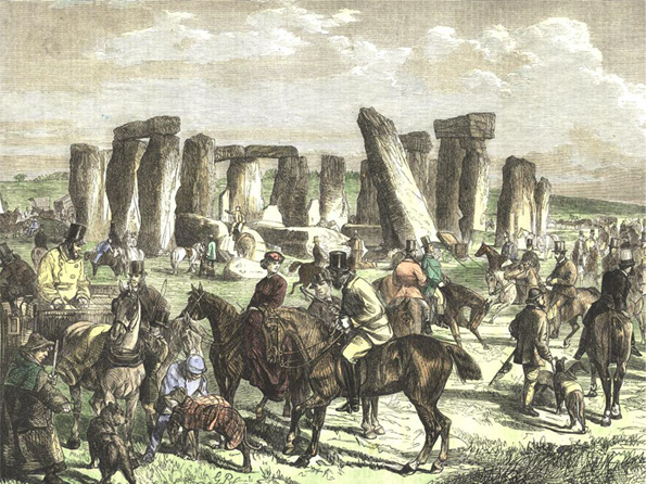 Stonehenge Drawing