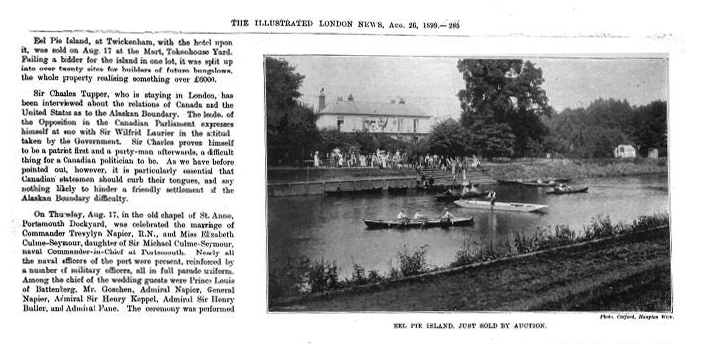The Illustrated London News 26 August, 1899