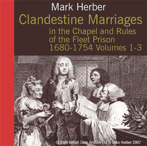 Clandestine Marriages in the Chapel and Rules of Fleet Prison 1680-1754