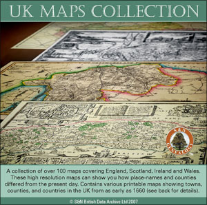 UK Maps Collection
