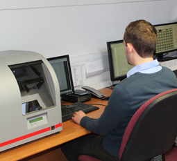 Digitisation is done in-house at the Chilmark offices with a range of specialist equipment