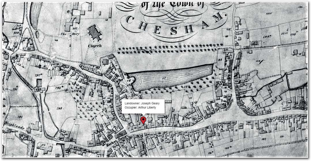 chesham tithe map